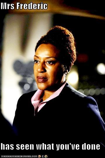 CCH Pounder,mrs-frederic,seen,warehouse 13