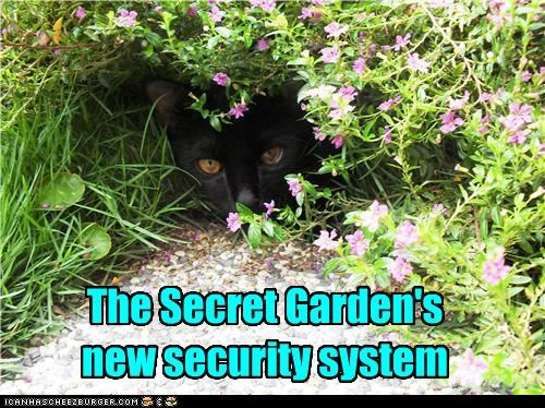 The Secret Garden's new security system