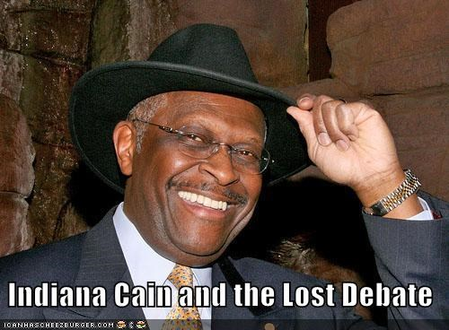 election 2012,GOP,herman cain,Indiana Jones,politial pictures