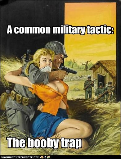 When The Army Used Bombshells...