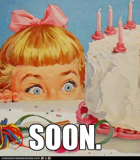 One Girl, One Cake
