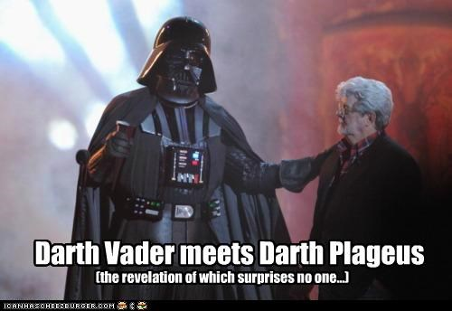 Darth Vader meets Darth Plageus