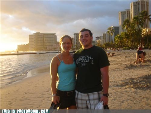 beach,butt,dat ass,Hawaii,ugly,what an ass