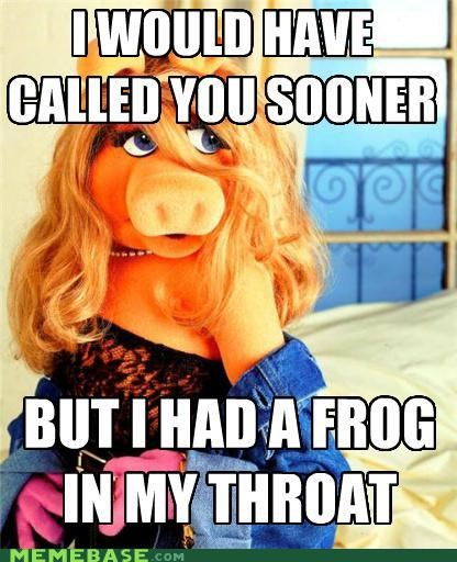 best of week,blowies,frog,Memes,muppets,piggy,sex,TMI