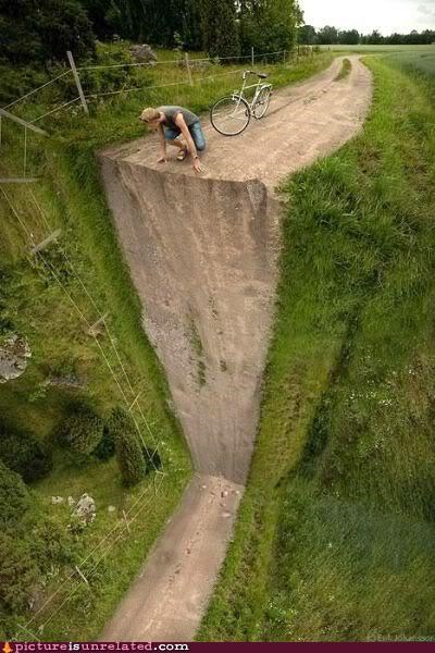 That Is One Steep Hill