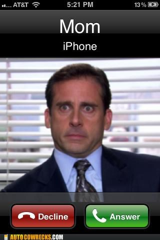 What Shows Up Every Time My Mom Calls