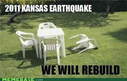 911,earthquake,forget,Kansas,Memes,rebuild