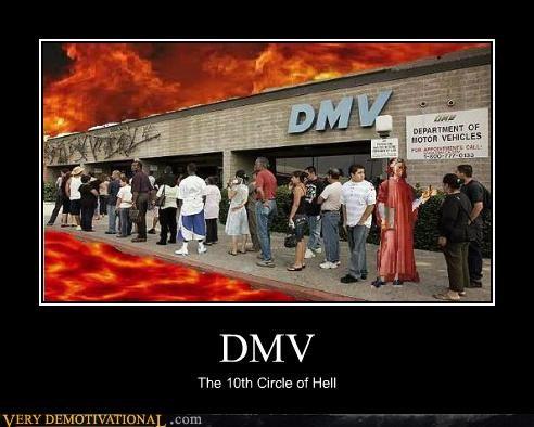 DMV,hell,hilarious,lines