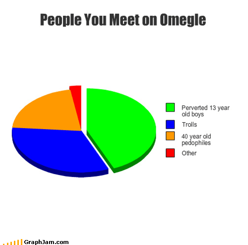 chat,Omegle,perverts,Pie Chart,trolling