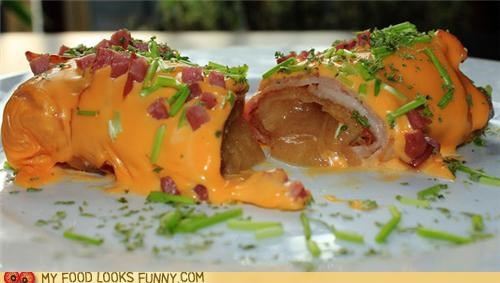 Bacon and Cheese Wrapped Apple Pie