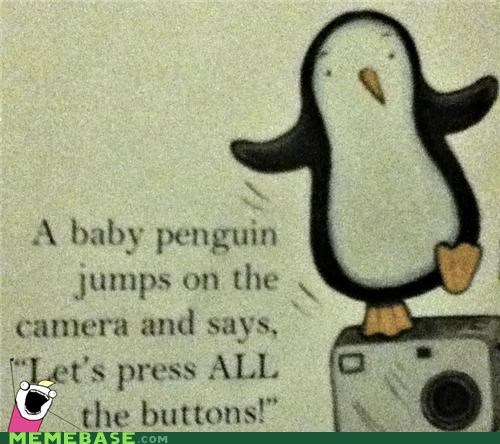 all the things,animemes,books,buttons,kids,penguin