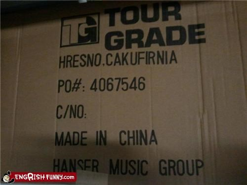 Cakufirnia,california,doing it wrong,Fresno,misspelling