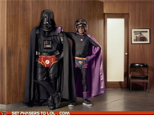 Dark Superhero Grandpa Befriends Darth Vader