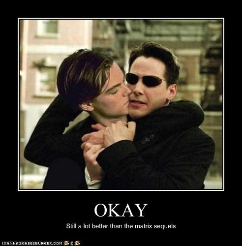 keanu reeves,leonardo dicaprio,photoshopped,sequels,the matrix,titanic,wtf