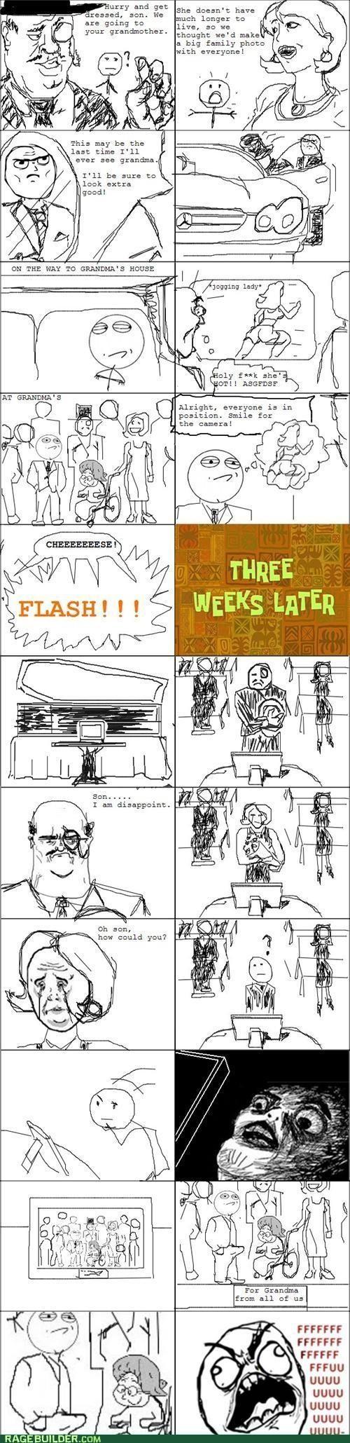 Awkward,best of week,family photo,hand drawn,Rage Comics