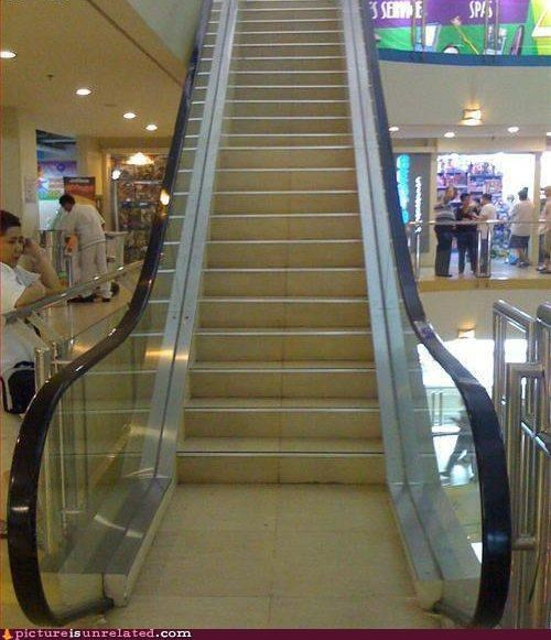 Escalator Permanently Stairs