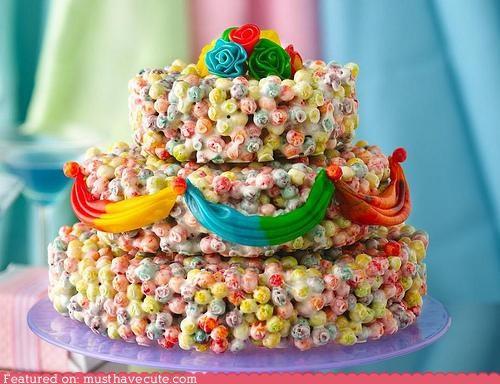 Epicute: Rainbow Trix Cake