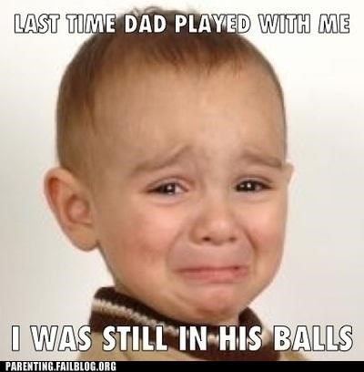 absent,dead beat,dude parts,Father,fun,man bits,parenting,Parenting Fail,play