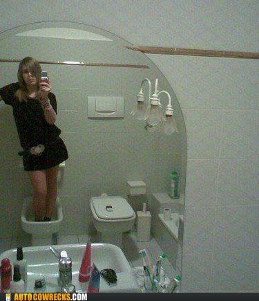 bathroom,bidet,self portrait,self poortrait
