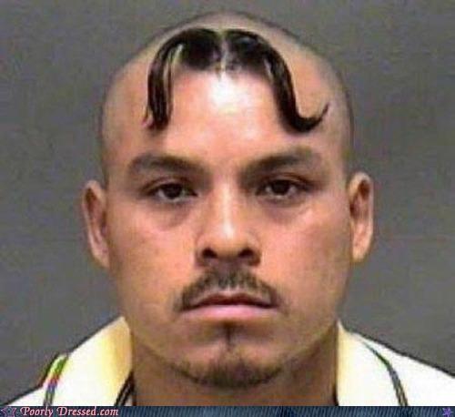 bad hair,doing it wrong,Hall of Fame,mug shot,mustache