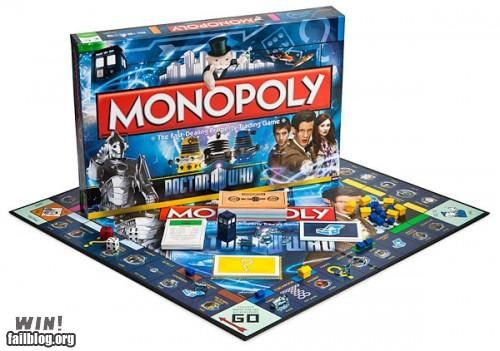 board game,doctor who,game,Hall of Fame,monopoly,nerdgasm,special edition