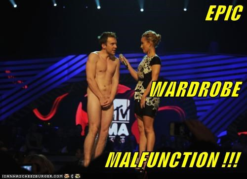 EPIC WARDROBE MALFUNCTION !!!