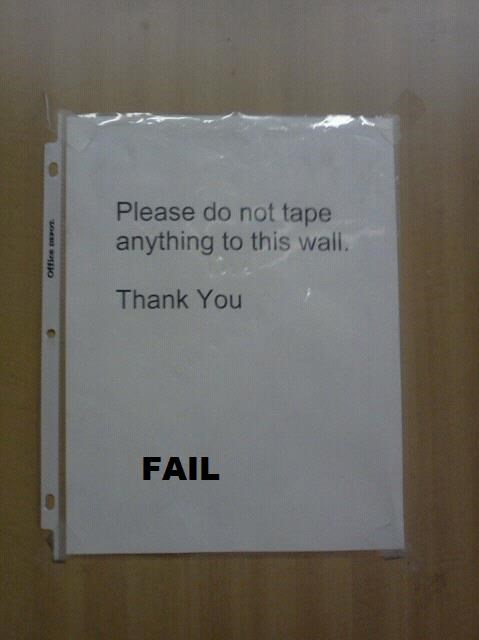 Instructional Irony FAIL