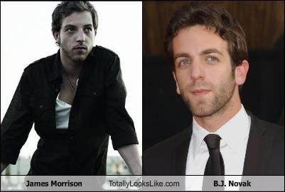 James Morrison Totally Looks Like B.J. Novak