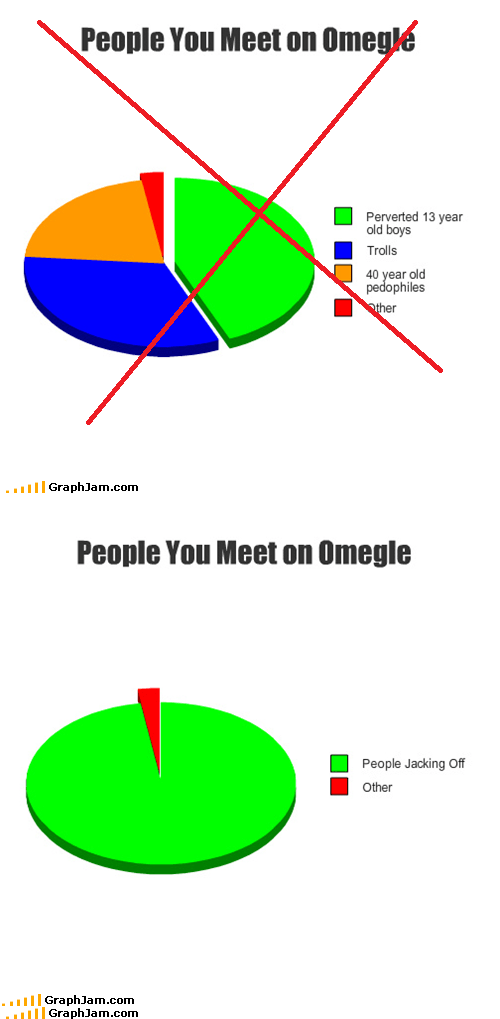 chat,Omegle,Pie Chart