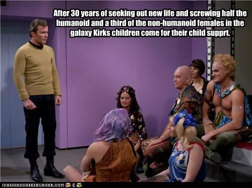 Captain Kirk,child support,hippies,Shatnerday,Star Trek,William Shatner