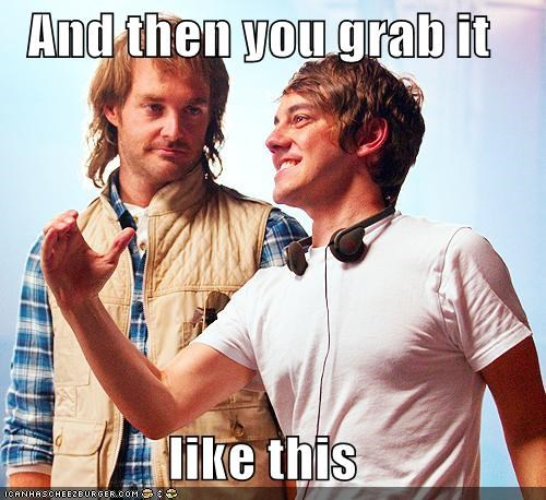 gay,grab,hands,jorma taccone,macgruber,p33n,sex,will forte