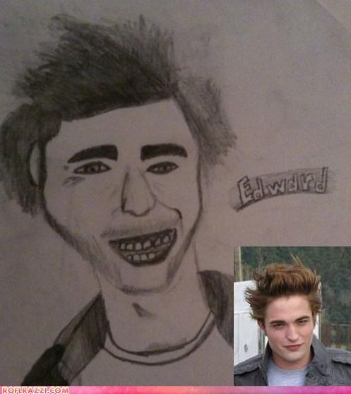 Horrifying Fan Art: Edward Cullen Part Two