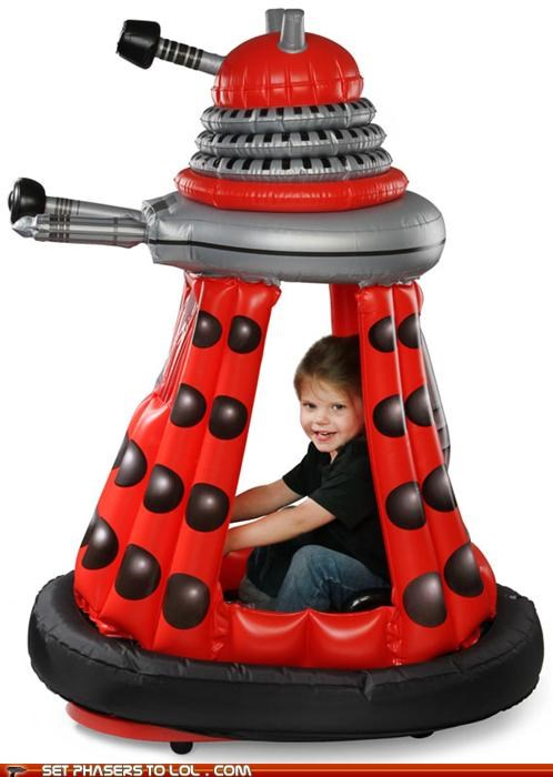 dalek,doctor who,driving,Exterminate,kids,power wheels,toy