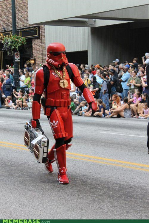 adidas,best of week,boom box,costume,star wars,stormtrooper,wtf