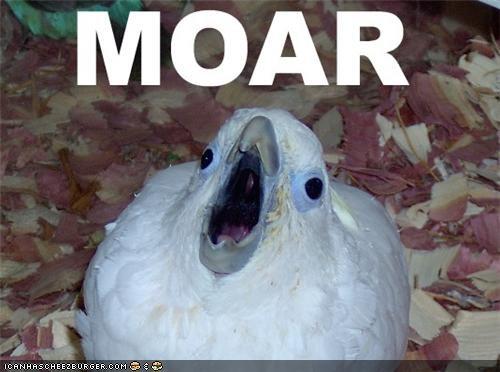 MOOOOAAAARRR!