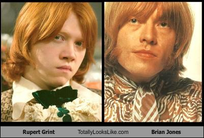 Rupert Grint Totally Looks Like Brian Jones