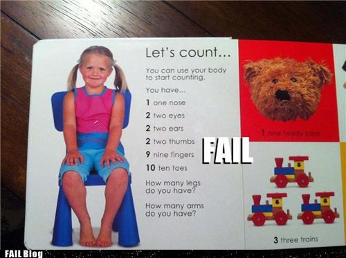 Counting Lesson FAIL