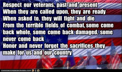 Veteran's Day, 11 Nov 2011