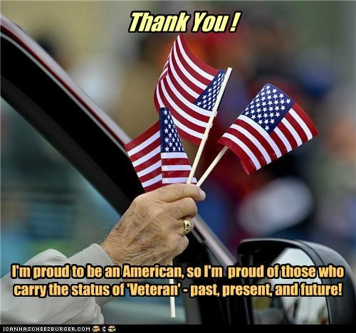 Veterans - thanks!