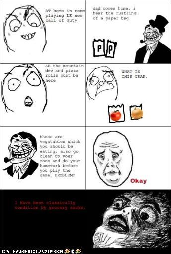 classical conditioning rage