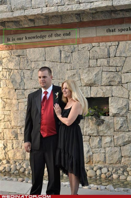 11-11-11,bride,funny wedding photos,groom,oops,placement,prophetic