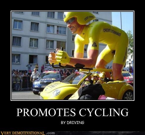 PROMOTES CYCLING