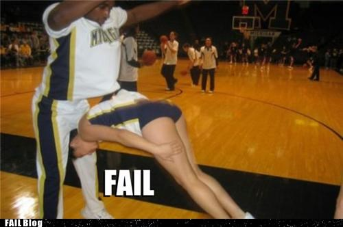 Cheerleading FAIL