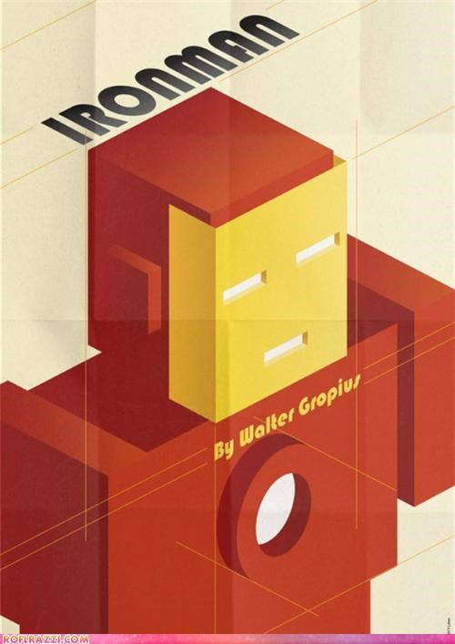 Collection: Art Deco Superhero Posters