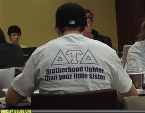 Not sure what kind of brotherhood you're in