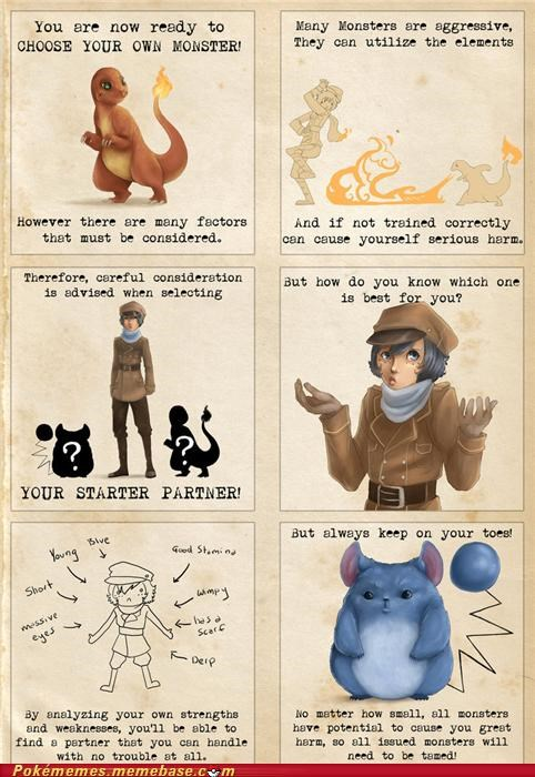 Pokémon PSA: Choose Your Starter Wisely