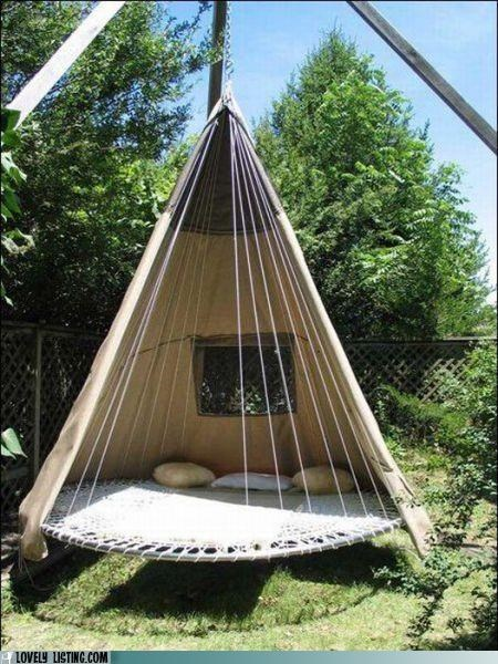 bed,best of the week,lounge,outdoors,tent,trampoine