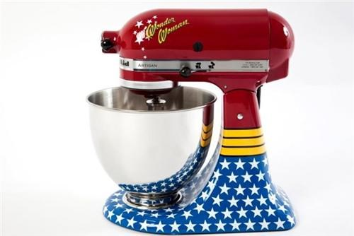 Wonder Woman KitchenAid Mixer of the Day