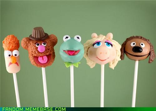 cake pop,It Came From the Interwebz,muppets,noms