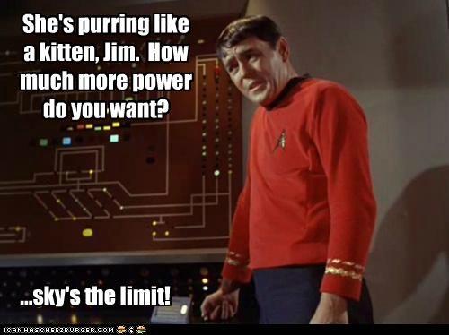 james doohan,kitten,medical team,power,scotty,Star Trek